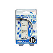 oppladbar batteripakke (3600mah) for Wii Remote (gm236)