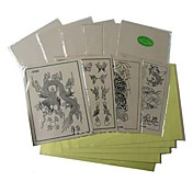 10 x TATTOO PRACTICE SKINs and 20 x TRANSFER PAPER