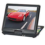 15-inch Portable DVD Player with TV Function, USB Port, 3-in-1 Card Reader, Games, Digital Photo Frame and Computer LCD Display(SMQC171)