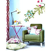 Flower Wall sticker (0752-sb005)
