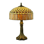 Tiffany-style Jewel Bronze Finish Table Lamp(0923-TF12)