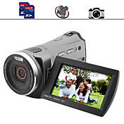 famiglia videocamera hd con 3 pollici a schermo doppio slot per schede SD (dc021)