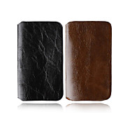 Leather Case for iPhone 4/4GS - Pure color Style (2 colour Per Pack)(CZAH156)