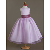 Taffeta Flower Girl Sash