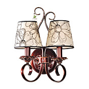 HAWTHORNE - Wandlampe aus Emaille mit 2 Glhbirnen