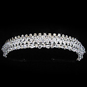 Alloy With Rhinestones Wedding Bridal Tiara/ Headpiece