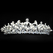 splendido diadema in lega da sposa / copricapo