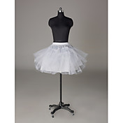 Nylon / Netto-Short-/ Mini-Hochzeit Petticoats (0061-11)