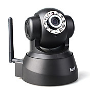 draadloze ip camera surveillance (wifi, night vision, bewegingsdetectie)