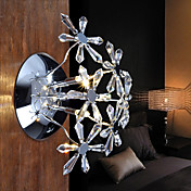 Egypt Imported Crystal Wall Light with 3 Lights - Bouquet Design