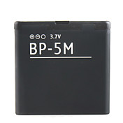 900mah remplacement des batteries de cellule tlphone BP-5M pour nokia 5610xm/5611xm/5700xm/5710xm/6110c et plus