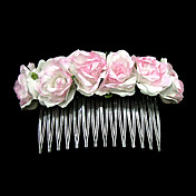 Paper Flower Wedding Bridal Headpiece/ Hair Pin