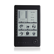 6 inch E-book Reader MP4/5 Media Player With E-ink display(800x600) Support 8GB SD Card