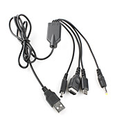 Universal USB-kabel for PSP, NDS, dsl, NDSi og 3ds