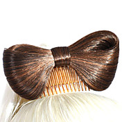 Fashion Butterfly Chignon Hair Wig Accessory
