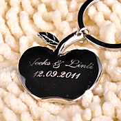 Personalized Key Ring - &quot;You are the apple of my eye&quot; (Set of 6)