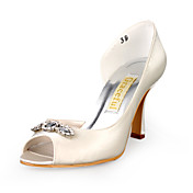 CAYA - Pumps Bryllup Stilletthler Satin