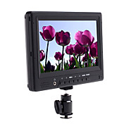 7 polegadas dslr hd lcd monitor (1080p, hdmi em out +)