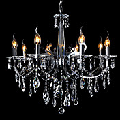 Moddern Crystal Chandelier with 8 Lights Candle Featured