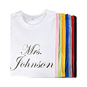 "Personalized ""MRS."" T-shirt"