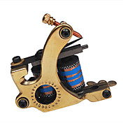 Professional Copper Tattoo Machine Shader with 10 Wrap Coils