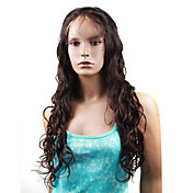 "Full Lace Ocean Curl 20"" Indian Remy Wig 26 Colors To Choose"