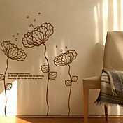 sarte blomster wall stickers (1985-P25)