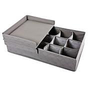 Two-order Box Lid Bamboo Charcoal Storage Box Home Storage Collection Box