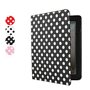 Custodia in pelle Pu a pois con supporto per iPad 2