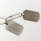 Personalized Tag Necklace - Name