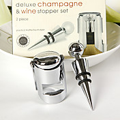 deluxe tappo di champagne e vino (2 pezzi)