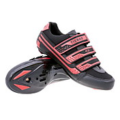 Cycling Road SPD Shoes With Fiberglass Sole And PVC Leather Upper Can Compatibility SPD Look SPD-R SPD-SL