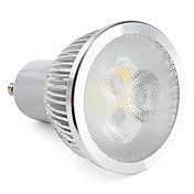 Foco LED de Luz Dirigida de Color Blanco Tibio de 3000 - 3500K GU10 3x2W 550-600LM (110 y 240V)