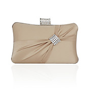 Silk With Crystal/Rhinestone Evening/Novelty Bag (More Colors)
