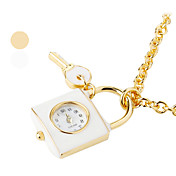 Women's Alloy Analog Quartz Necklace Watch A118 (Assorted Colors)