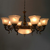 Stylish Chandelier with 11 Lights in Antique Style