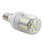 E14 27x5050 SMD 3.5W 300LM 5500-6500K Natural White Light LED Corn Bulb (230V)