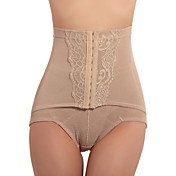 Patterned High Waist Chinlon Shaping Panty