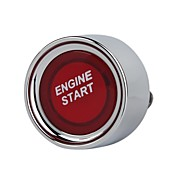 Red Light Button Ignition Switch  OFF-(ON)