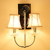 Wall Light with 2 Lights in Warm Light