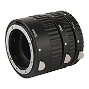 High Quality 3-Piece Macro Extension Tube Set for Nikon D-SLR - Black