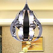 1 - Light Modern Pendant Light in Steel