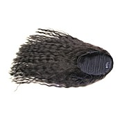 Clip In Curly Black 3/4 wig