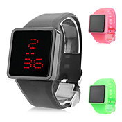 Unisex Fashion Silicone Digital LED Wrist Watch (Assorted Colors)