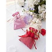 Rosette Satin Favor Bag (Set of 12)
