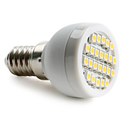 E14 1-1.5W 24x3528 SMD 50-60LM 2800-3200K Warm White Light LED Spot Bulb (230V)
