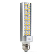 E27 10W 60x5050 SMD 520-600LM 2500-3500K Warm White Light LED Corn Bulb (110-240V)