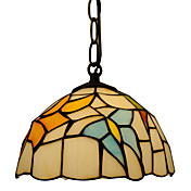 Tiffany Pendant Light with 1 Light in Butterfly Pattern