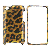 Leopard Print Style Protective Back Case and Bumper Frame for iPod Touch 4 (Brown)