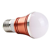 E27 3W 270lm rdt lys rd shell LED bold pre (85-265V)